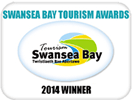 Swansea Bay Tourism Awards 2014 Winner Rating 5 Stars